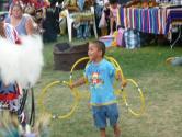 A future hoop dancer.