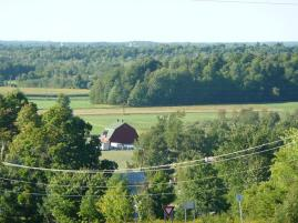 A pretty scene near Canton, NY