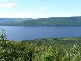 Cape Breton Island is absolutely stunning. You could stop anywhere, close your eyes, point your camera anywhere and get a beautiful scene.