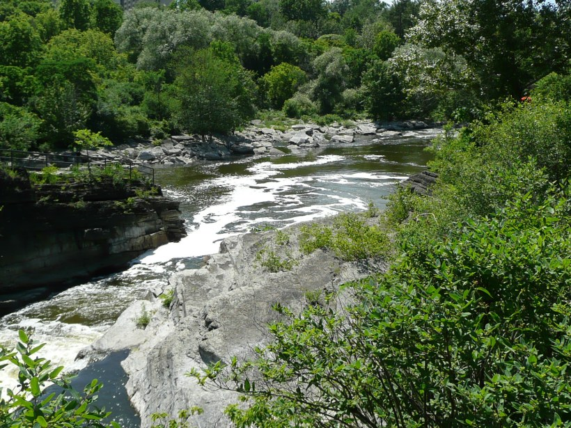 Past Hog's Back Falls, Rideau River, Ottawa ON