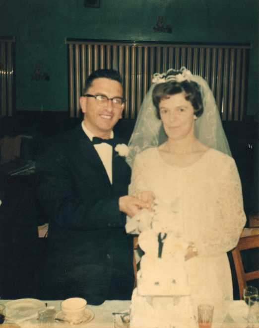 Dad and Mom, March 27, 1967